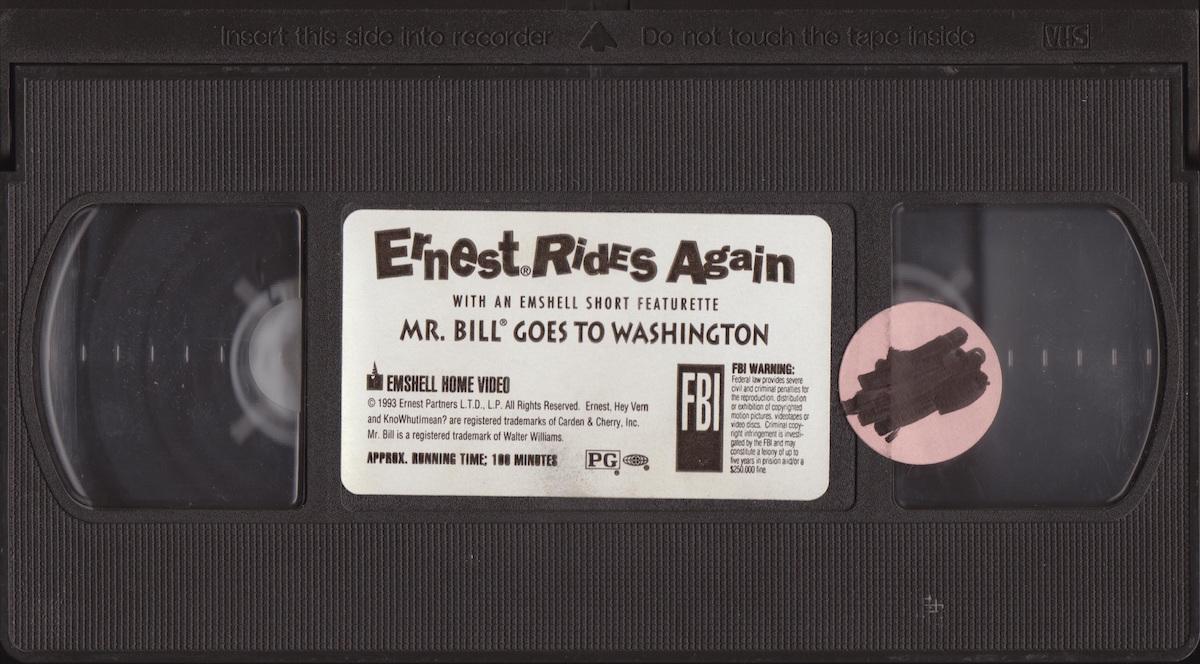 Ernest rides again! – Der zweite Teil unserer Ernest P. Worrell Werkschau ist da.