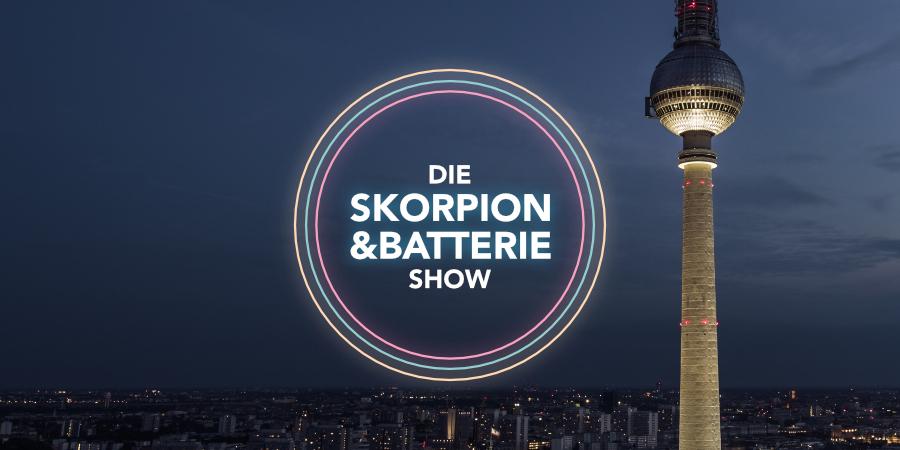Die Skorpion und Batterie Show ist unser zweiter Podcast!
