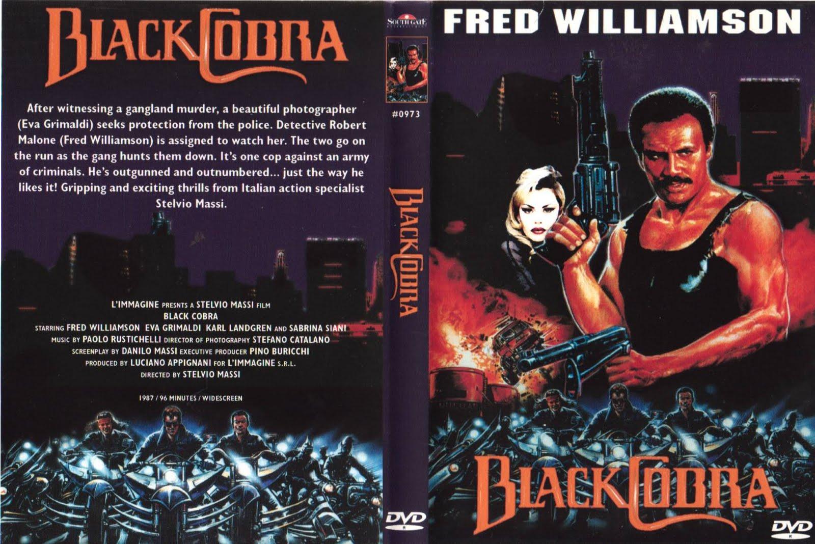 Das Begleitprogramm zum Fred-Williamson-Podcast: Die Black Cobra Trilogie