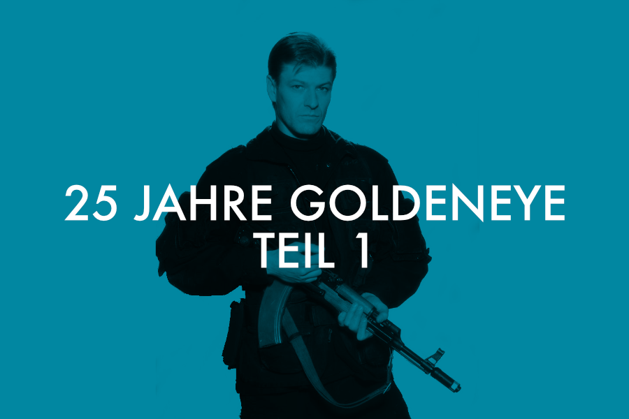 Unser James-Bond-Podcast feiert 25 Jahre Goldeneye.