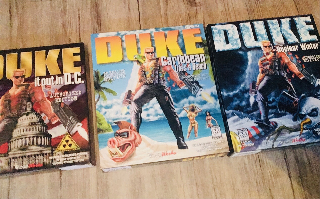 Duke Nukem Levelpacks